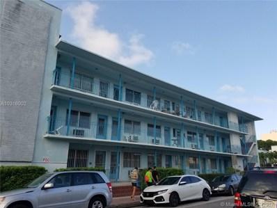 1004 Pennsylvania Ave UNIT 21, Miami Beach, FL 33139 - MLS#: A10316002