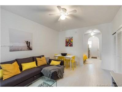 1005 Meridian Ave UNIT 1, Miami Beach, FL 33139 - MLS#: A10318655