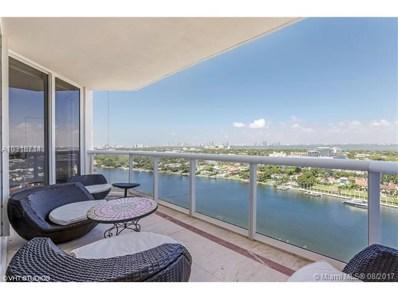 4779 Collins Ave UNIT 2106, Miami Beach, FL 33140 - MLS#: A10318714