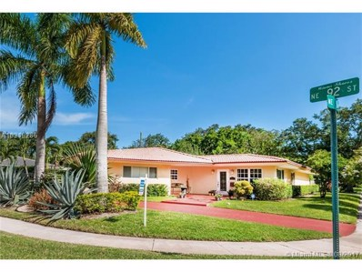 100 NE 92nd St, Miami Shores, FL 33138 - MLS#: A10319286