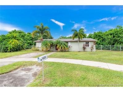 1605 SW 5th St, Homestead, FL 33030 - MLS#: A10319348