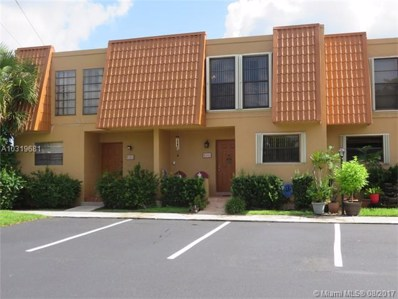 9141 Orchid Tree Ln UNIT 132, Pembroke Pines, FL 33024 - MLS#: A10319681