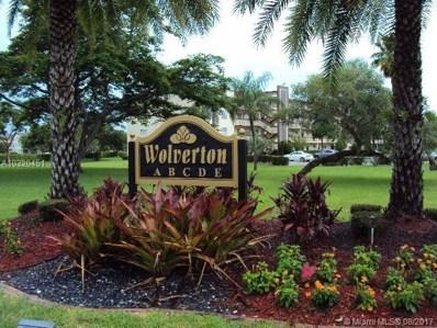 2082 Wolverton  E UNIT 2082, Boca Raton, FL 33434 - MLS#: A10320451