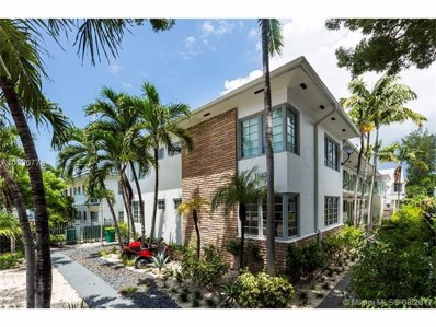 1045 Lenox Ave UNIT 7, Miami Beach, FL 33139 - MLS#: A10320776
