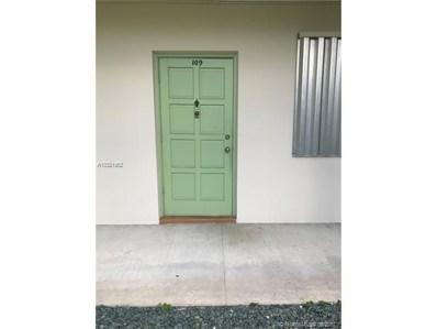 2303 Polk St UNIT 109, Hollywood, FL 33020 - MLS#: A10321952