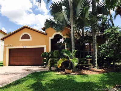 15833 SW 14 Court, Pembroke Pines, FL 33027 - MLS#: A10323108