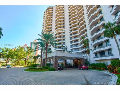 3300 NE 191 UNIT 601, Aventura, FL 33180 - MLS#: A10323474