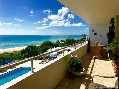 5555 Collins Ave UNIT 6G, Miami Beach, FL 33140 - MLS#: A10323515