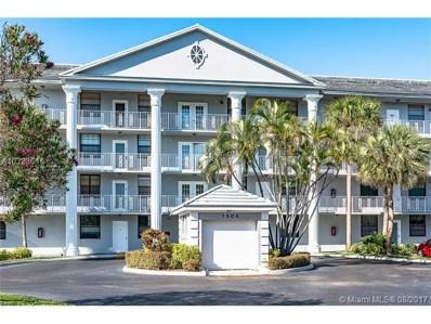 1504 Whitehall Dr UNIT 402, Davie, FL 33324 - MLS#: A10323610