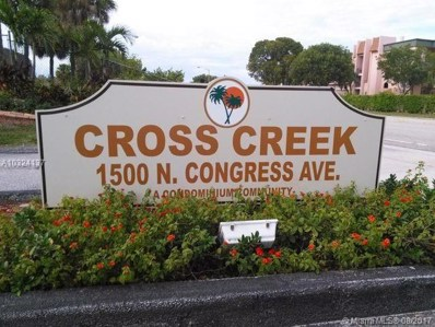 1500 N Congress Ave UNIT C1, West Palm Beach, FL 33401 - MLS#: A10324137