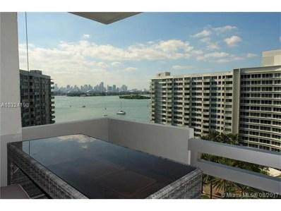 1500 Bay Rd UNIT 1166S, Miami Beach, FL 33139 - MLS#: A10324198