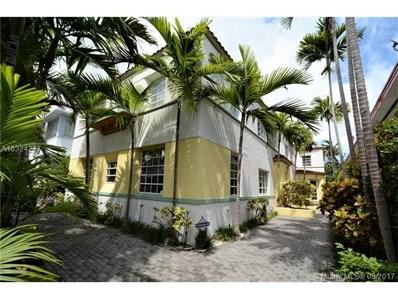 1605 Euclid Ave UNIT A-1, Miami Beach, FL 33139 - MLS#: A10324247