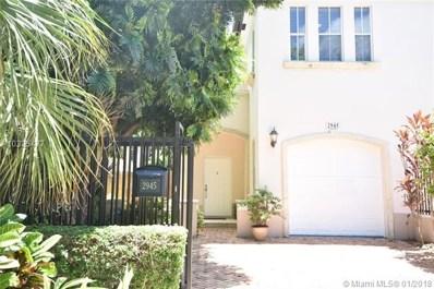 2945 Center St, Miami, FL 33133 - MLS#: A10325477