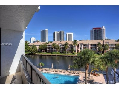 300 Three Islands Blvd UNIT 802, Hallandale, FL 33009 - MLS#: A10326024