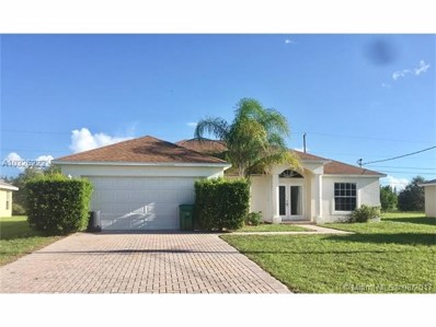 578 SW Halkell Ave, Port St. Lucie, FL 34953 - MLS#: A10326223