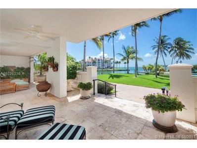 4712 Fisher Island Dr UNIT 4712, Miami Beach, FL 33109 - MLS#: A10326338