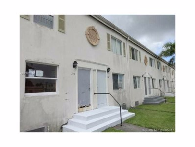 340 NW 84th Ter UNIT 340, Miami, FL 33150 - MLS#: A10326791
