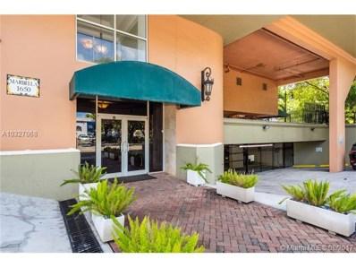 1650 Coral Way UNIT 404, Miami, FL 33145 - MLS#: A10327068