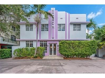 320 Euclid Ave UNIT E, Miami Beach, FL 33139 - MLS#: A10328817