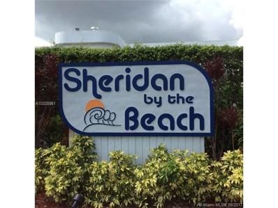 1460 Sheridan UNIT D20, Hollywood, FL 33020 - MLS#: A10328861