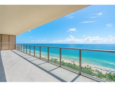 9705 Collins Ave UNIT 1802N, Bal Harbour, FL 33154 - MLS#: A10328927
