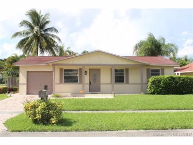 8261 SW 3rd Pl, North Lauderdale, FL 33068 - MLS#: A10328987