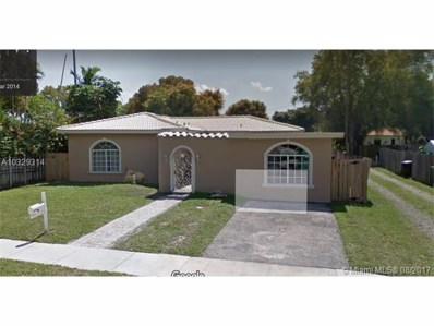 404 Swan Ave, Miami Springs, FL 33166 - MLS#: A10329314