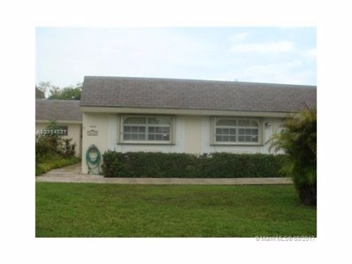 16825 SW 113th Ave UNIT V41343, Miami, FL 33157 - MLS#: A10334031