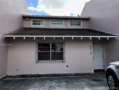 473 Sunrise Blvd UNIT 473, Homestead, FL 33033 - MLS#: A10334558