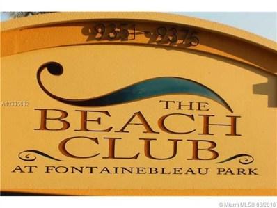9351 Fontainebleau Blvd UNIT B-228, Miami, FL 33172 - MLS#: A10335082