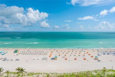1455 Ocean Drive UNIT 1407, Miami Beach, FL 33139 - MLS#: A10335360