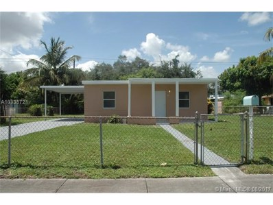 16450 NW 24th Ave, Miami Gardens, FL 33054 - MLS#: A10335721