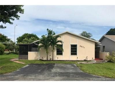 4571 SW 137 Ct, Miami, FL 33175 - MLS#: A10336885