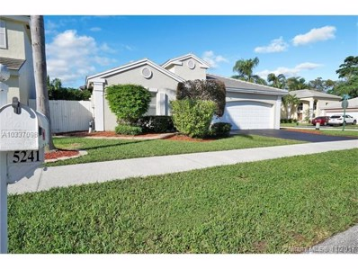 5241 NW 53rd Ave, Coconut Creek, FL 33073 - MLS#: A10337098