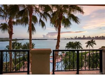5034 Fisher Island Dr UNIT 5034, Miami Beach, FL 33109 - MLS#: A10337790