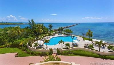 7233 Fisher Island Dr UNIT 7233, Miami Beach, FL 33109 - MLS#: A10337927