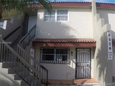 6420 SW 129th Pl UNIT 205, Miami, FL 33183 - MLS#: A10338065