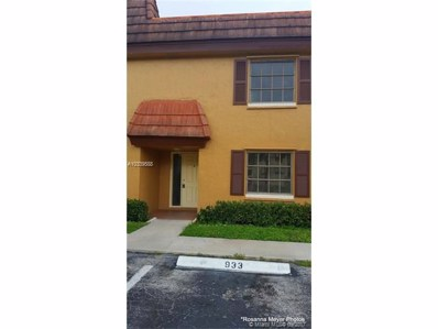 933 NW 45th St, Deerfield Beach, FL 33064 - MLS#: A10339588