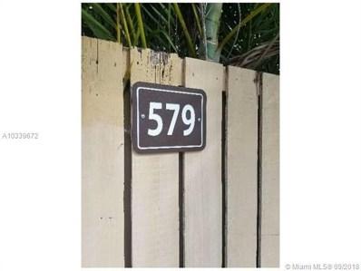 579 Green Springs Pl UNIT 579, West Palm Beach, FL 33409 - MLS#: A10339672