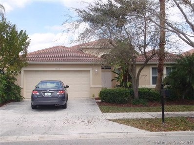1380 Meadows Blvd, Weston, FL 33327 - MLS#: A10340132