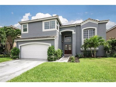 10282 SW 9th Ln, Pembroke Pines, FL 33025 - MLS#: A10340731