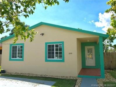 2290 NW 64th St, Miami, FL 33147 - MLS#: A10340810