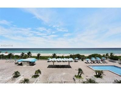 5701 Collins Ave UNIT PH 19, Miami Beach, FL 33140 - MLS#: A10341748