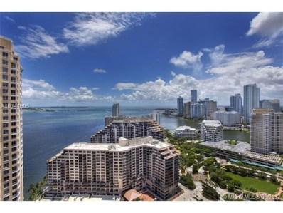 848 Brickell Key Dr UNIT 3105, Miami, FL 33131 - MLS#: A10341895