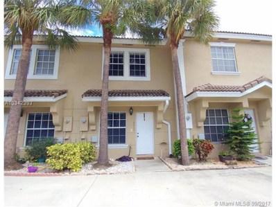 12205 SW 6th St, Pembroke Pines, FL 33025 - MLS#: A10342393