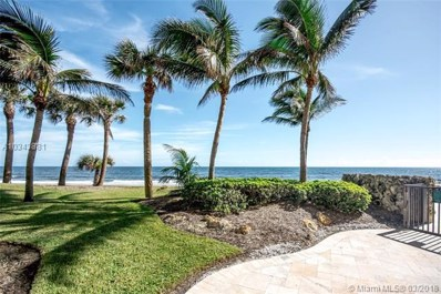 200 Beach Road UNIT 103, Tequesta, FL 33469 - MLS#: A10343881