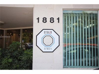 1881 Washington Ave UNIT 9H, Miami Beach, FL 33139 - MLS#: A10345433