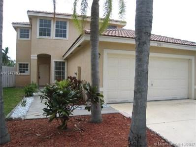 2113 SW 173rd Ave, Miramar, FL 33029 - MLS#: A10347893