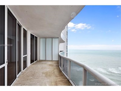 16001 Collins Ave UNIT 1907, Sunny Isles Beach, FL 33160 - MLS#: A10349538