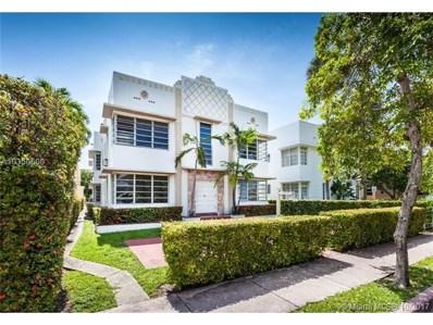 811 Jefferson Ave UNIT 104, Miami, FL 33139 - MLS#: A10350600
